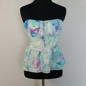 True Freedom Colorful Corset Top